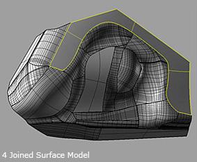 RhinoReverse Surface Model