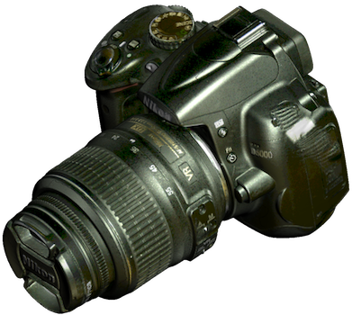 Artec Studio nikon camera part