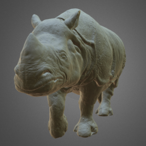 Artec3D scanned part - Rhino