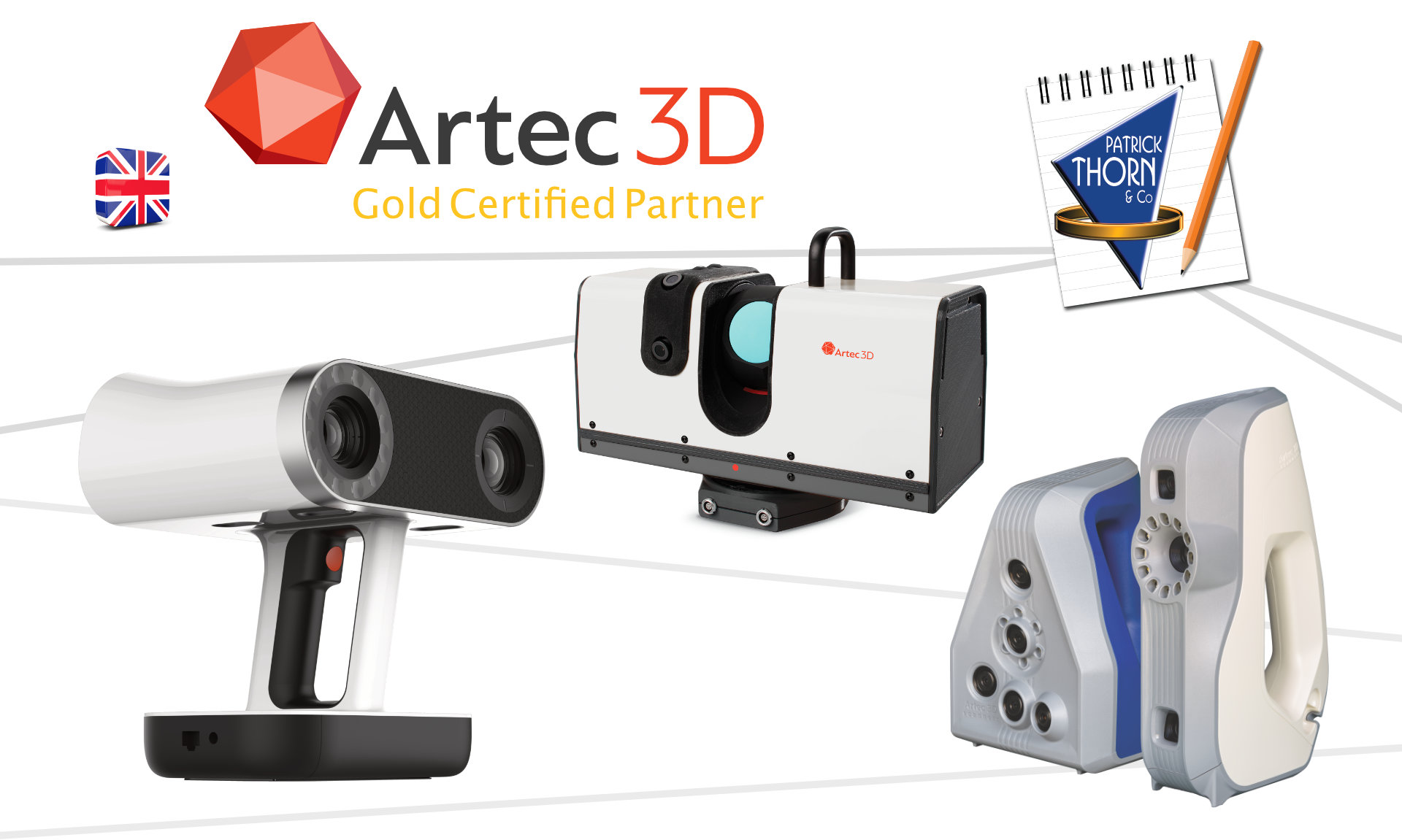 Artec3D scanners - Patrick Thorn